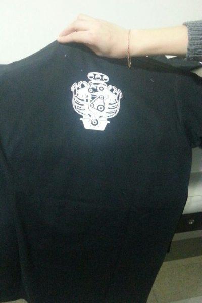 ABBIGLIAMENTO PERSONALIZZATO FELPE T-SHIRT t-shirt personalizzata fluo black and greyMURGIDA