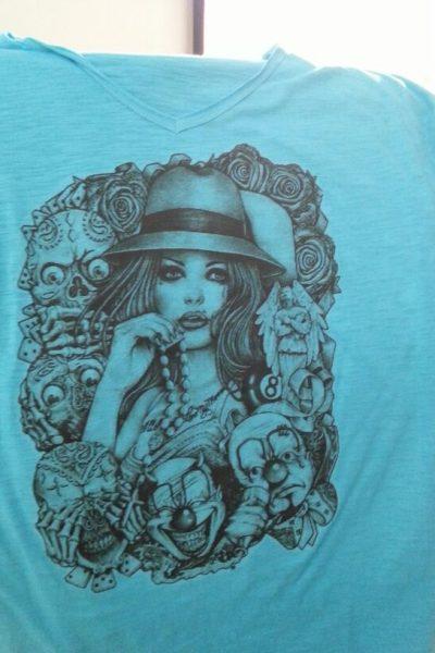 ABBIGLIAMENTO PERSONALIZZATO FELPE T-SHIRT t-shirt personalizzata fluo colors c