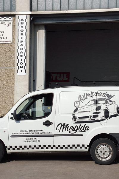 DECORAZIONE AUTOMEZZI LOGO WRAPPING MURGIDA