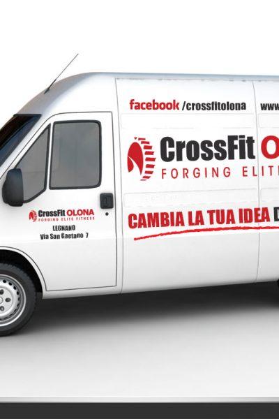 DECORAZIONE AUTOMEZZI LOGO WRAPPING furgone crossfit large