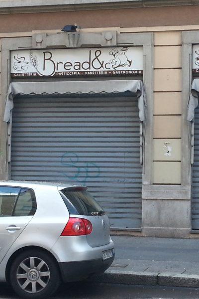 INSEGNA NON LUMINOSA DIBOND breadE CO