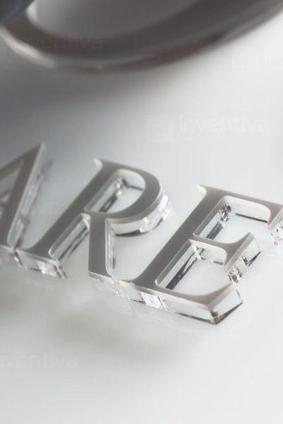 SCRITTE A RILIEVO 3D FOREX SCRITTE 3D PLEXIGLASS