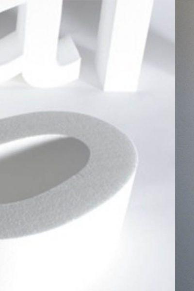 SCRITTE A RILIEVO 3D POLISTIROLO